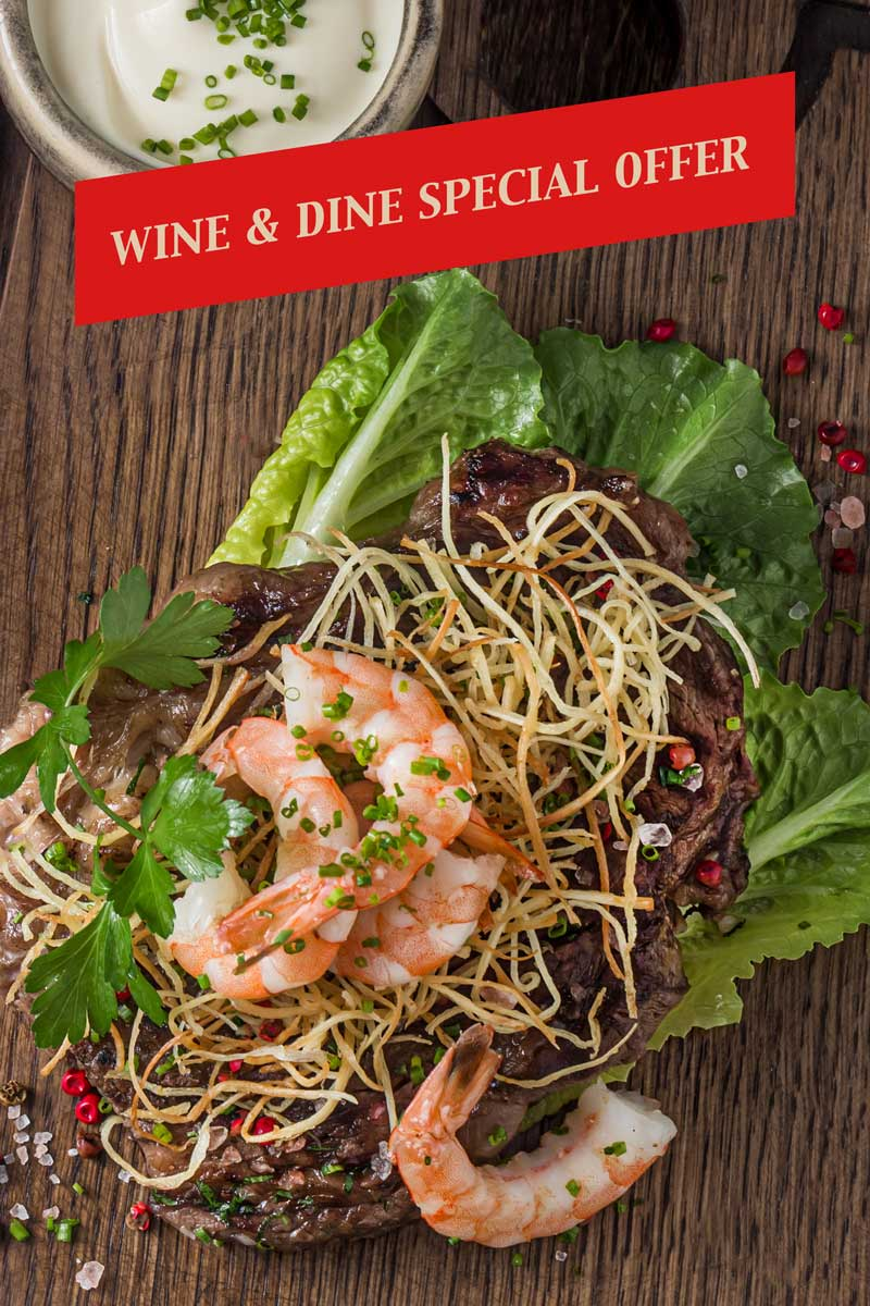 Daily Globe Wine and Dine Special